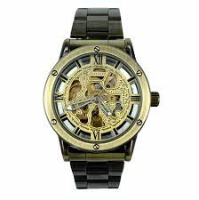 popular lucky brand watches for men buy cheap lucky brand watches brand tags lucky family mechanical watches men fashion retro bronze skeleton automatic mechanical watch wristwatch reloj