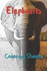 Click the baby elephant coloring pages to view printable version or color it online (compatible with ipad and android tablets). Amazon Com Elephant Coloring Sheets 30 Elephant Drawings Coloring Sheets Adults Relaxation Coloring Book For Kids For Girls Volume 9 9781797636986 Smith Julian Books