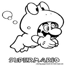 Kleurplaat Toad Mario Kleurplatennl Parties Super Mario