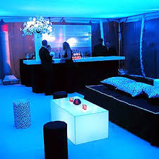 A Tented After Party Area Was Lit With Black Light By U003cstrongu003eStortz