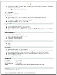 Short Resume Format Amazing Resume Paper Size Standard Resume Prissy Ideas Format Best About On
