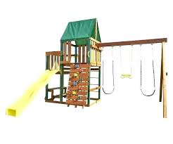 wooden swing set kits home depot fascinating sets s hardware kit clearance medium size of traditional shed
