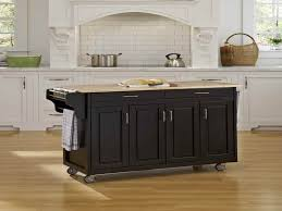 Traditional kitchen islands on wheels