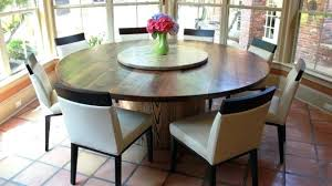 lazy susan table inspiring round dining table with lazy on epic art ideas to walnut and lazy susan table