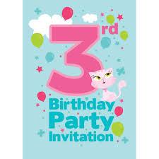 rd birthday invitation pink purple gold rabadcfcaacb zkgc unique 3rd birthday invitations