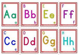 Alphabet Flashcards Aussie Childcare Network