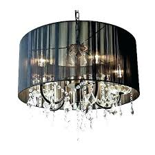 chandeliers drum chandelier with crystal new crystals and studio black d