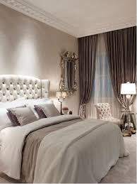 Example of a large cottage chic guest carpeted bedroom design in London  with gray walls