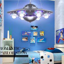 kids bedroom lighting. Colorful Remote Control UFO Spaceship Chandelier Children\u0027s Room Pendant Lamp Bedroom Lights Creative Cartoon Kids Lighting