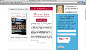 Home Designer Suite  Using A Coupon Code From - Home designer suite