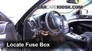 infiniti fuse box interior fuse box location 2007 2012 infiniti g25 2012 infiniti interior fuse box location 2007 2012