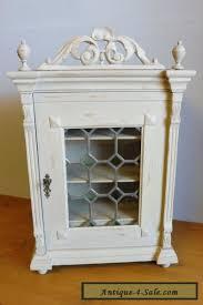 oak wood 1900s wall cabinet