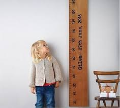Wall Ruler Height Chart Details About Height Growth Chart Wooden Ruler Baby Gift Personalised Home Family Wall