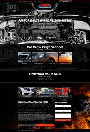 auto parts website template 10 excellent automotive website design templates for 2017