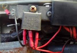 how to wire in auxillary driving lamps on volvo 240 or 260 next you need power for the lamps this is taken from the distribution block the cover pushes up to reveal the terminal