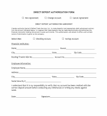 Free Direct Deposit Form - April.onthemarch.co