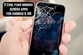 11 cool fake broken screen apps for
