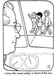 Small Picture School Bus Safety Coloring Pages Pinteres