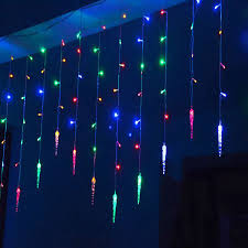 Led Icicle Drip Lights In Motion Pinterest