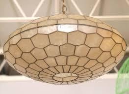 pendant lighting ideas top capiz shell pendant light