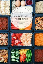 Weekly Lunch Prep Busy Mom Food Prep