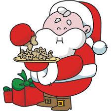 cookies for santa clip art.  Cookies Santa Eating Cookies Clipart For Clip Art