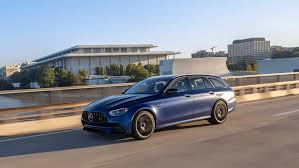 Starting with a 3.2l turbodiesel up to a 5.5l supercharged v8. The Mercedes Amg E 63 S Is A Station Wagon With A Sports Sedan S Soul Robb Report