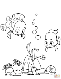 coral reef fish drawing. Contemporary Fish Click The Coral Reef Fish Coloring Pages To View Printable Version Or Color  It Online Compatible With IPad And Android Tablets To Drawing F