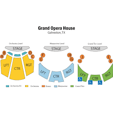 The Grand 1894 Opera House Seating Chart