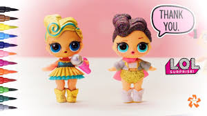 Lol Surprise Luxe And The Queen How To Color Baby Doll