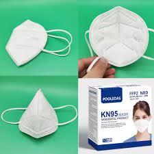 China <b>5 Layer</b> Pm 2.5 <b>Ffp2 N95</b> Kn95 Face Mask with Ce FDA ...