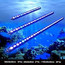 Fish Tank Lights Cheap Us 43 41 5 Off 1pcs 54w 81w 108w Waterproof Ip65 Waterproof Led Aquarium Bar Light For Reef Coral Growth Fish Tank Lamp Lighting Stock In De Us In