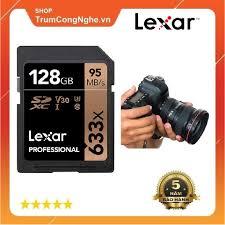 Thẻ nhớ Máy Ảnh SD 128GB Lexar Professional 633x Class10 U3 95Mb/s - Tốc Độ  Siêu Cao