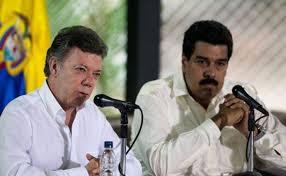 Resultado de imagen para presidente santos odia a Venezuela