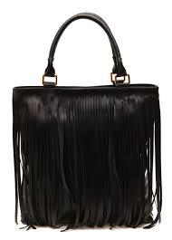 marla fiji handbags torrie black fringe shoulder bag