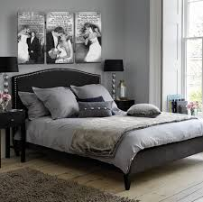 white room black furniture. Wonderful Grey And White Bedroom Design Ideas With Black Bed Brown Carpet Elegant Room Furniture
