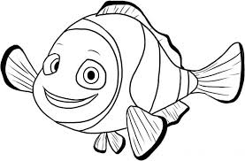 Free Finding Nemo Coloring Pages For Kids Coloringstar