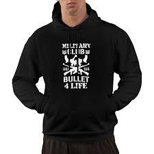 Amazon Com Adult Hooded Sweatshirt Bullet Club Kenny