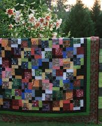 Framing With Multiple Quilt Borders & Disappearing Nine Patch Quilt with borders Adamdwight.com