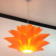 modern lily flowers re pendant lights lotus lampshade lotus pendant light capiz lotus pendant light