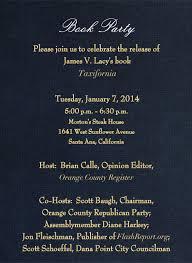 OC Politics Blog | Taxifornia Book Release Party set for Jan. 7 at Morton's  in Santa Ana