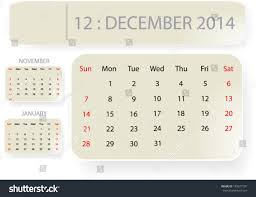 december 2014 background. Modren December Month Of December 2014 Calendar Template Background With Simple Classic  Paper Bubble Design Vector Eps10 Intended Background O
