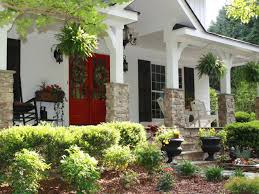 red front door white house. Modern Style Red Front Door White House With Home Exterior The Fire Engine Double D
