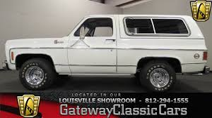 1978 Chevrolet K5 Blazer - Louisville Showroom - Stock #1046 - YouTube