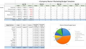 Easy Monthly Budget Template 8 Easy To Use Annual Marketing Plan And Budgeting Templates