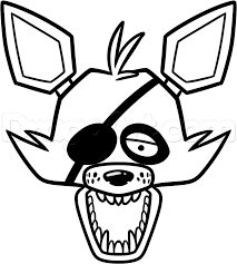 862x958 how to draw foxy the fox easy step 8 fnaf costume