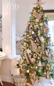 Of Your Dreams From Tips To Decorate It Ideas White And Blue Blue Christmas Tree Ideas