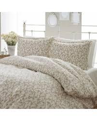 white cotton duvet cover king. Contemporary White Laura Ashley Victoria 3piece Flannel Duvet Cover Set FullQueen In White Cotton King D