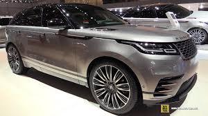 2018 land rover velar interior. delighful rover 2018 range rover velar  exterior and interior walkaround 2017 geneva  motor show and land rover velar interior