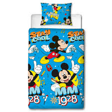 mickey mouse cool single duvet cover set polyester front